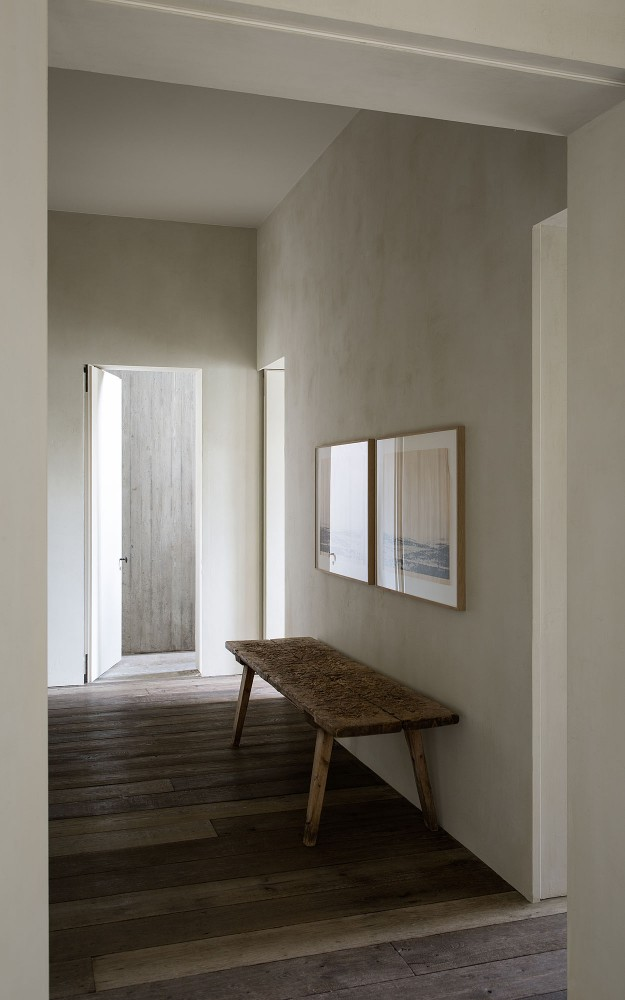corridor at the apartment by graanmarkt 13. architecture by vincent van duysen. photography by frederik vercruysse