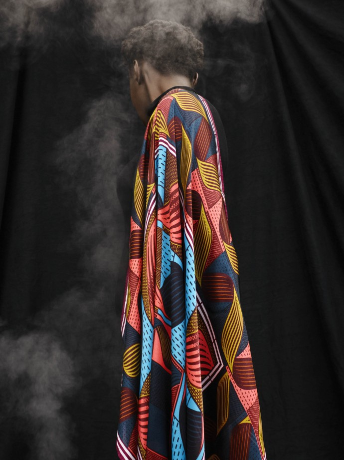 Fashion photography for Vlisco by Frederik Vercruysse