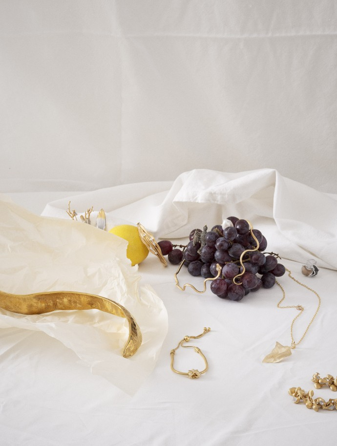 Still life photography with jewelry for Knack Weekend
