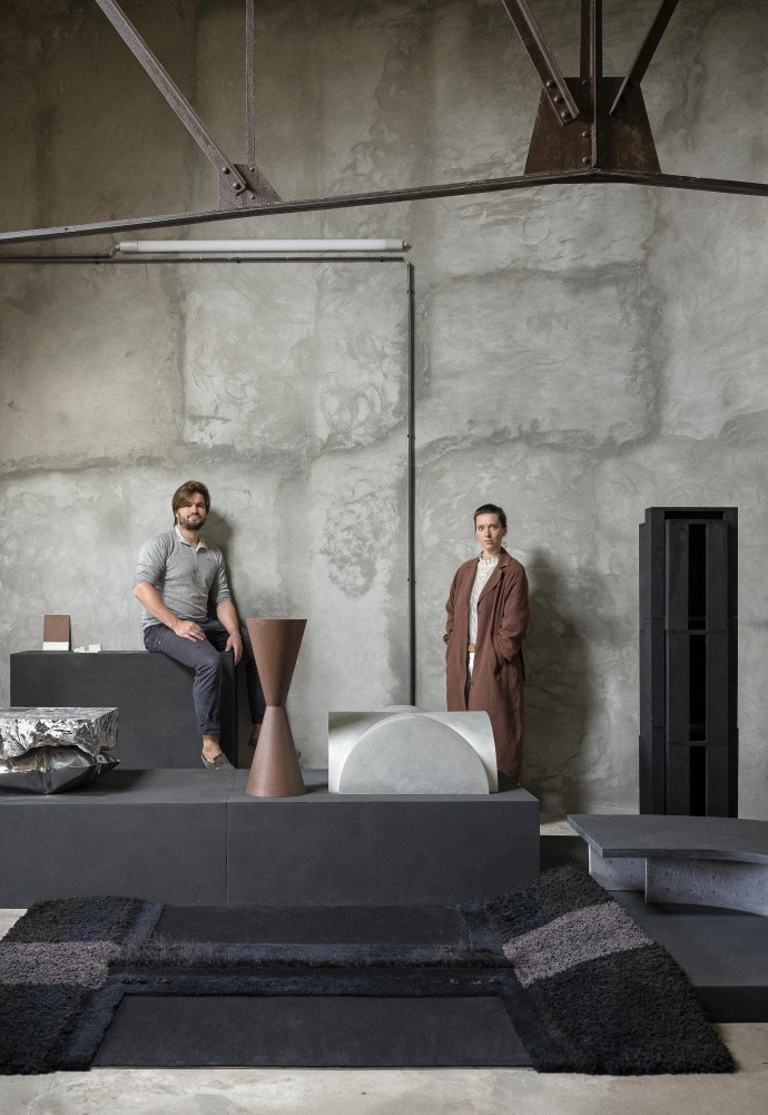 Ben Storms and Linde Freya Tangelder at Ateliers Zaventem, photographed by Frederik Vercruysse