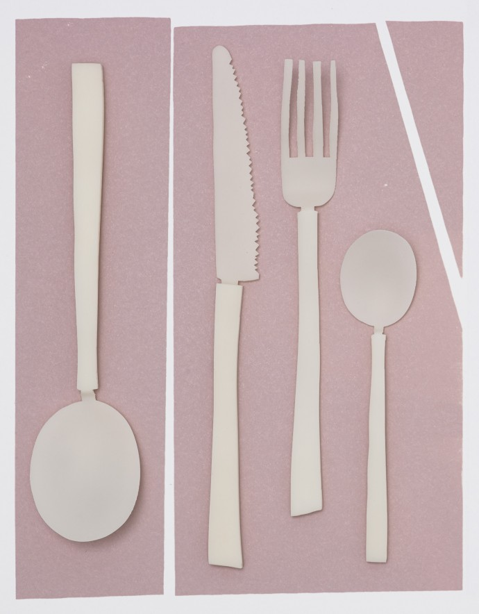 Valerie Objects cutlery. Still life photography by Frederik Vercruysse