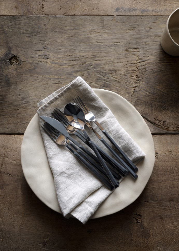 Cutlery photographed by Frederik Vercruysse for Zara Home