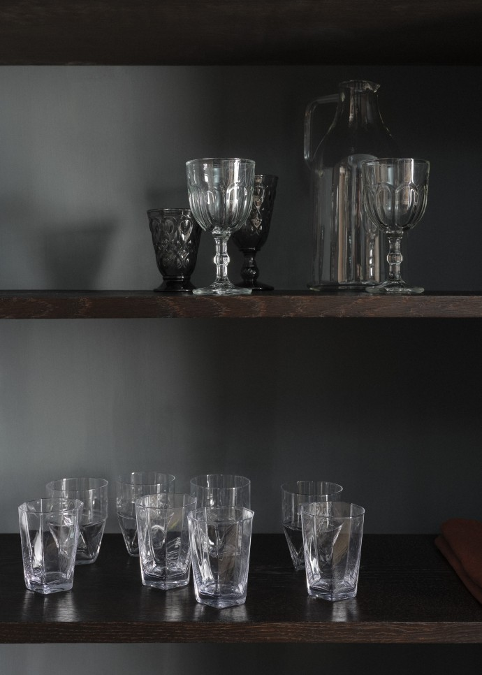 Glassware photographed by Frederik Vercruysse for Zara Home