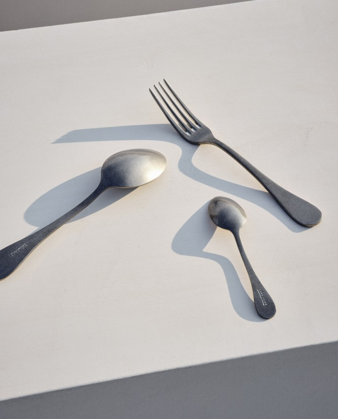 Still life photography with Zara Home cutlery