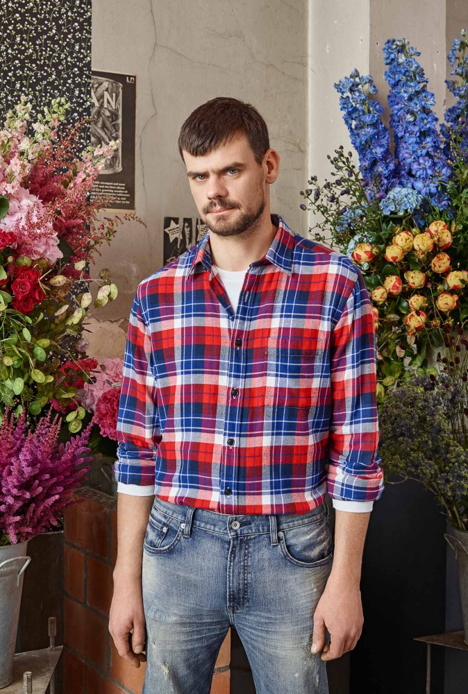 florist Mark Colle for Uniqlo